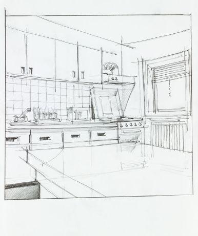 Keukenarchitect tekening