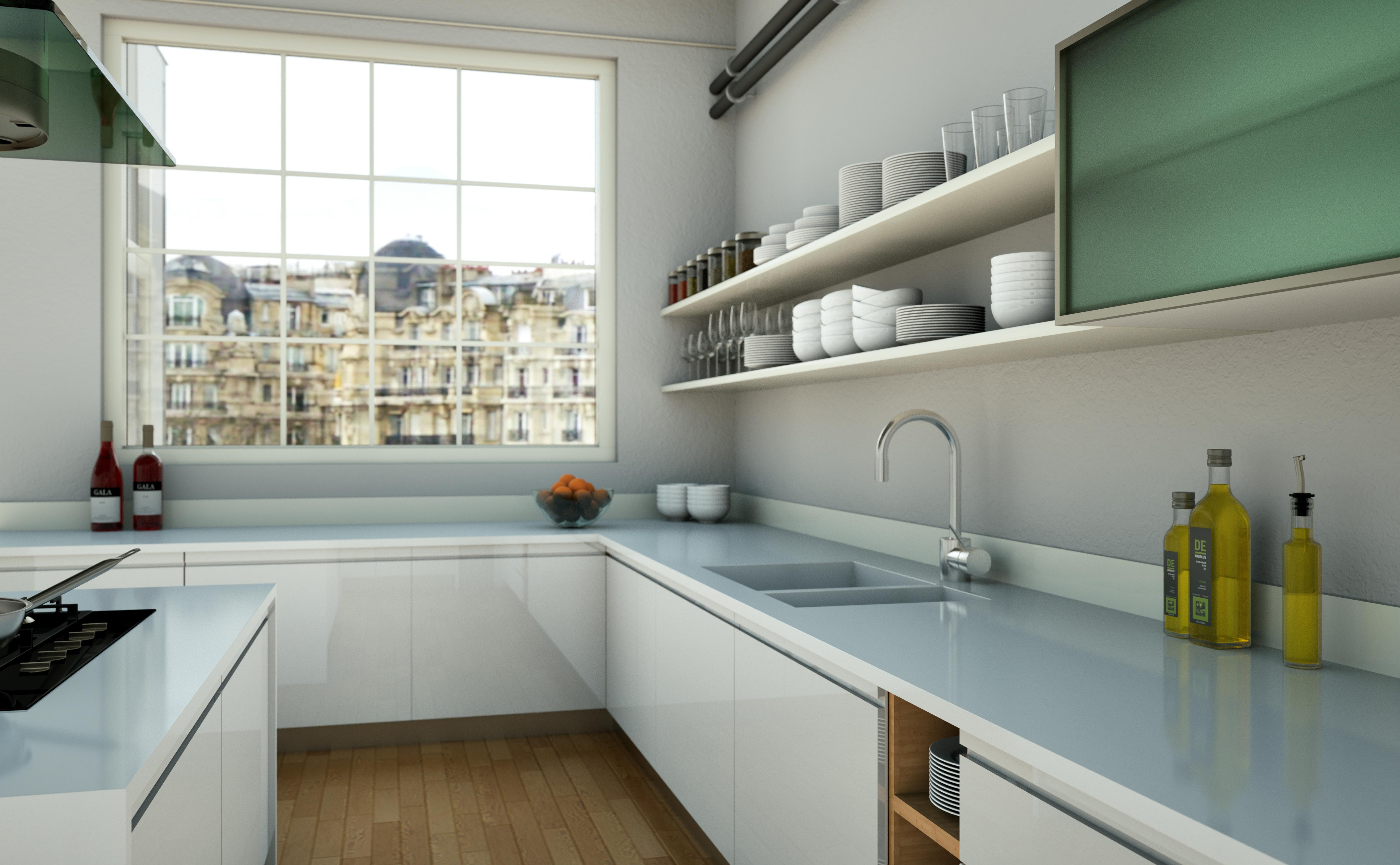 kokend water kraan in de keuken