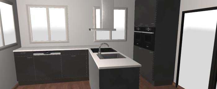 Keuken ontwerpen ontwerp gratis uw 3d keuken in slechts 5 for Keuken ontwerpen 3d ipad