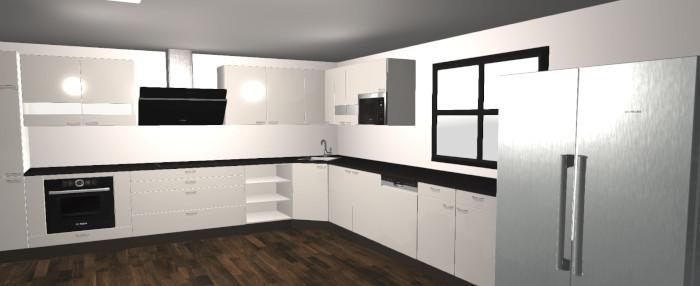 Keuken ontwerpen ontwerp gratis uw 3d keuken in slechts 5 for Keuken 3d ontwerpen