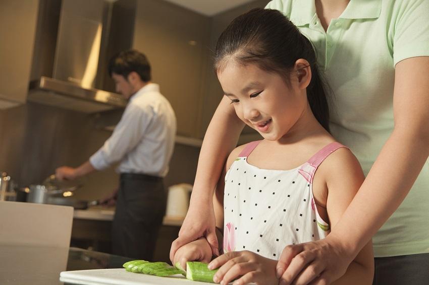 Kindvriendelijke keuken veilig maken
