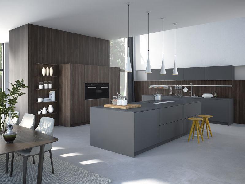 Industriele keuken inrichten