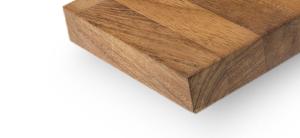 houten werkblad vervangen