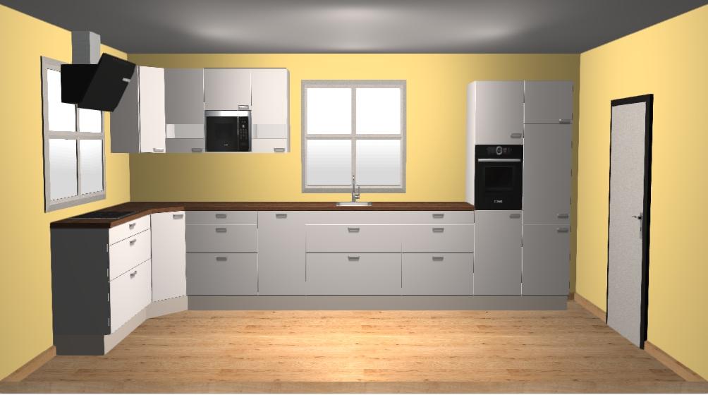 keuken 3x6 m