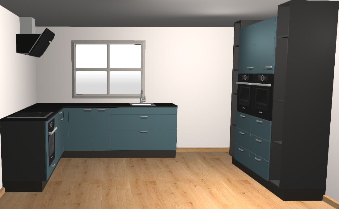 keuken 4x3m ontwerpen