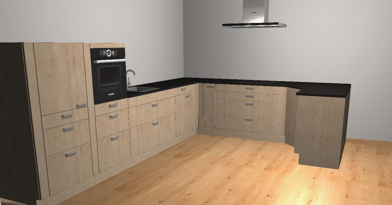 keuken 4x5 m