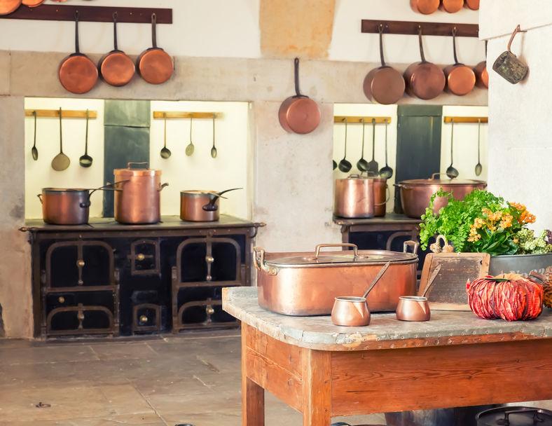 Kasteel keuken stijl