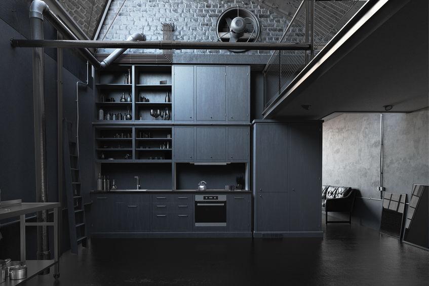 keukenstijlen Loft keuken