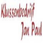 Klussenbedrijf Jan Paul