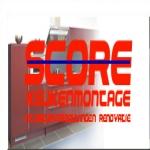 Score Keukenmontage