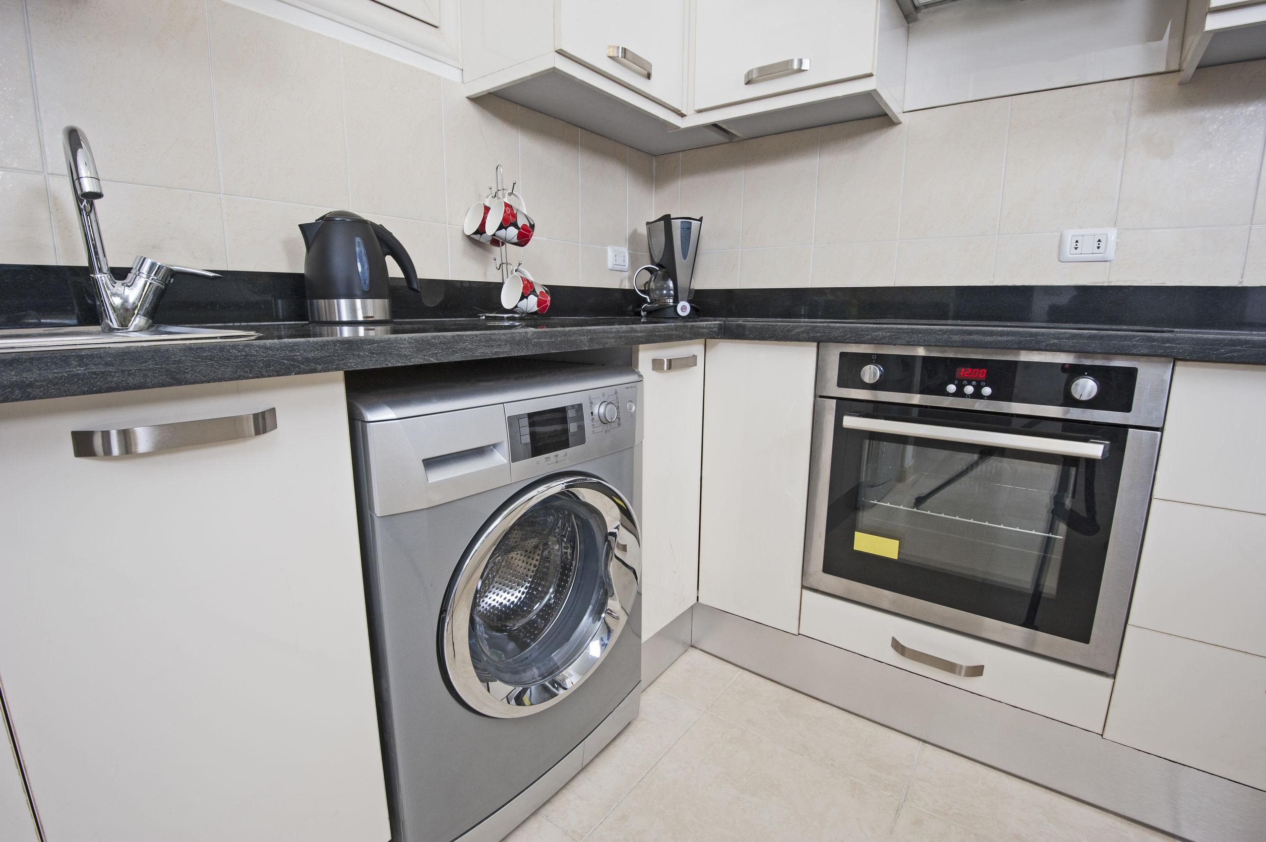 Wonderbaar Wasmachine in de keuken? Handige tips en ideeën - IZAA TE-46