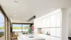 Keuken licht maken