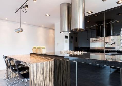 zwarte vt wonen keuken