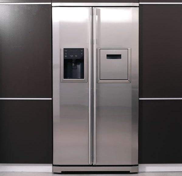 rvs keuken koelkast