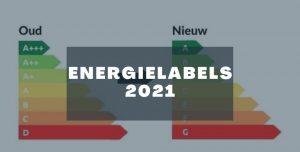 Nieuwe energielabels